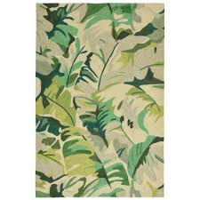 Forest Rug 8 X 10 Green Outdoor Rugs Rugs The Home Depot