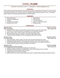 resume summary examples entry level writing resume entry level