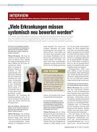 Urologe Bad Nauheim Interview Mit Prof Dr Med Elisabeth Märker Hermann Vorsitzende