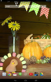 thanksgiving hd live wallpaper for android android live