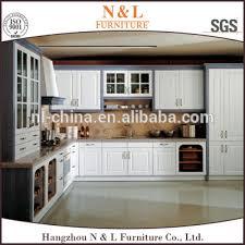 wholesale plastic kitchen cabinet set pvc wood grain laminate