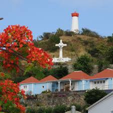 Map Of St Barts by Gustavia Lighthouse Saint Barthelemy St Barts Is A Small