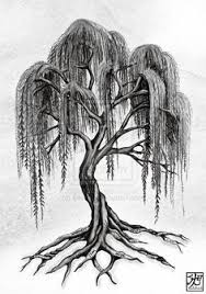 willow tree by aluc23 on deviantart wood burning
