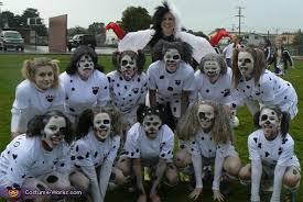 Soccer Halloween Costumes 101 Dalmatians Cruella Devil Costume Costume Contest Girls
