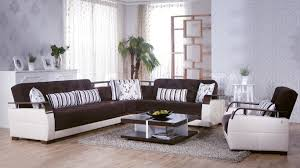 Istikbal Living Room Sets Sectional Sofa And Armchair Set In Colins Brown By