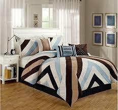 Tan And Black Comforter Sets Black And Brown Comforter Sets Hudson Comforter Set In Black Bed