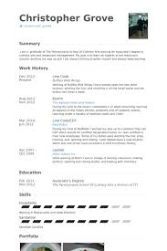 Example Of Chef Resume by Line Cook Resume Samples Visualcv Resume Samples Database