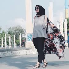 model baju muslim modern 13 model baju muslim modern 2017 yang lagi trend