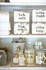 Bathroom Organization Ideas by Free Printable Labels That You Can Type In Text And Edit