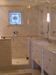 bathroom pattern great house ideas with guest bathroom tile pattern subway on bottom
