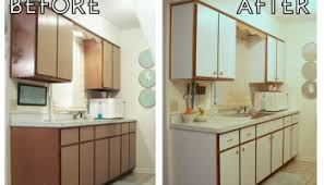 how to update rental kitchen cabinets apartment kitchen makeover the decor guru