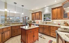 brown kitchen cabinets lowes national refacing systems