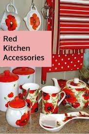 themed kitchen accessories kitchen accessories poppy themed kitchen accessories