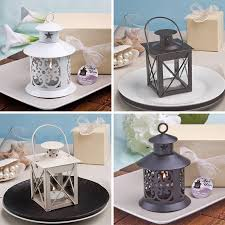 wedding candle favor 12 lantern candle holders wedding favor