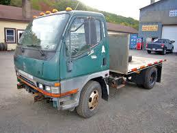mitsubishi trucks 2014 1999 mitsubishi fe single axle flatbed truck for sale by arthur