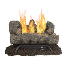 shop gas fireplace logs at lowes com