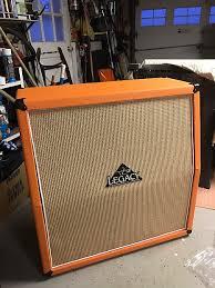 Orange Cabinet 4x12 Carvin Legacy C412 4x12 Orange Cabinet Unloaded Reverb