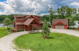 Homes With Detached Guest House For Sale Tennessee Waterfront Property In Mcminnville Center Hill Lake