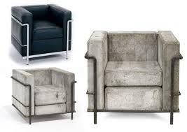 concrete le corbusier chair it u0027s majesty the chair pinterest