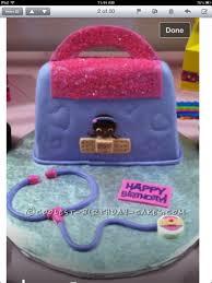 dr mcstuffin cake coolest doc mcstuffins doctor bag cake