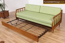 Buy Mid Century Modern Furniture by Restored Mid Century Modern Sofa With Trundle Bed