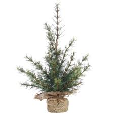 small burlap base faux pine christmas tree u0026 reviews temple