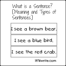 Declarative And Interrogative Sentences Worksheets 1976write What Is A Sentence Meaning And Types Of Sentences