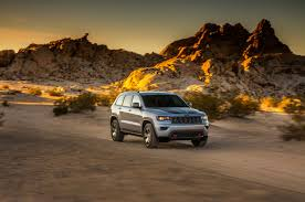 dark brown jeep 2017 jeep grand cherokee trailhawk first official images