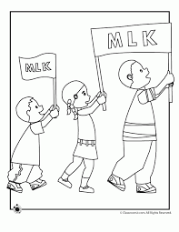Martin Luther King Jr Coloring Pages Picture Coloring Martin Mlk Coloring Pages