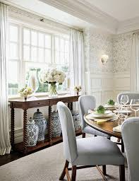dining room design with wood u0026 white