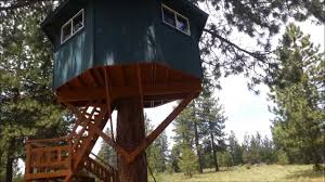 diy coolest treehouse youtube