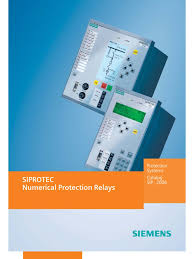 siemens siprotec relay relay electric power system