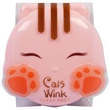 toni moli tony moly cat s wink clear pact light beige 38 oz 11 g