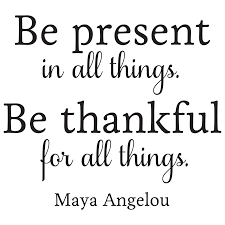 quote decals for glass be present in all things wall quotes decal wallquotes com