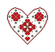 swedish ornament cross stitch pattern ornaments