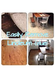 Removing Laminate Flooring Glue Removing Linoleum Glue Adorably Shabby