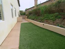 Landscaping Ideas For Backyard With Dogs by Upgrading The Side Yard Diy