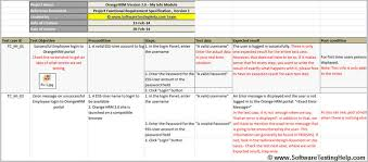 Quality Assurance Excel Template Test Template Cyberuse