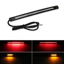 led light strip turn signal flexible motorcycle brake lights turn signal led light strip moto