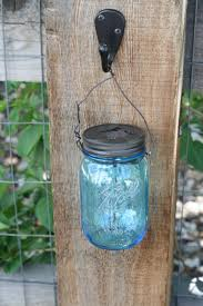 Solar Fence Lighting by Mason Jar Solar Light Diy Thriftdee