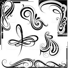 Art Deco Design Art Nouveau Design Elements Stock Vector Art 543088046 Istock
