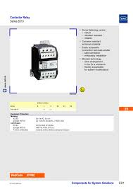 contactor relay series 8510 r stahl pdf catalogue technical