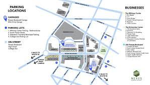 Rowan Map Downtown Glassboro Parking Nexus Parking Systems
