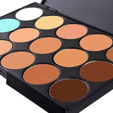 15 color pro makeup neutral face eyeshadow camouflage cosmetic