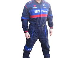 blue mechanic jumpsuit bmw vw mechanic overall work wear boiler suit
