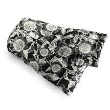 pattern black silk pack elizabethw carmel daisy hot cold flaxseed pack