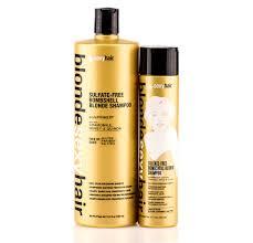 blonde hair sulfate free bombshell blonde shampoo sleekshop