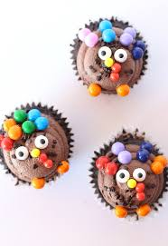 thanksgiving turkey cupcakes the house