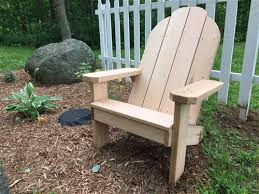 Adirondack Patio Chair Classic Handcrafted Cedar Adirondack Patio Chair