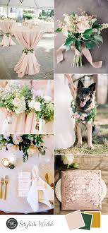 simple wedding ideas 9 greenery inspired wedding colors that you can t miss in 2017